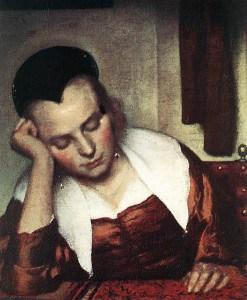 Johannes_Vermeer_-_A_Woman_Asleep_at_Table_(detail)_-_WGA24610