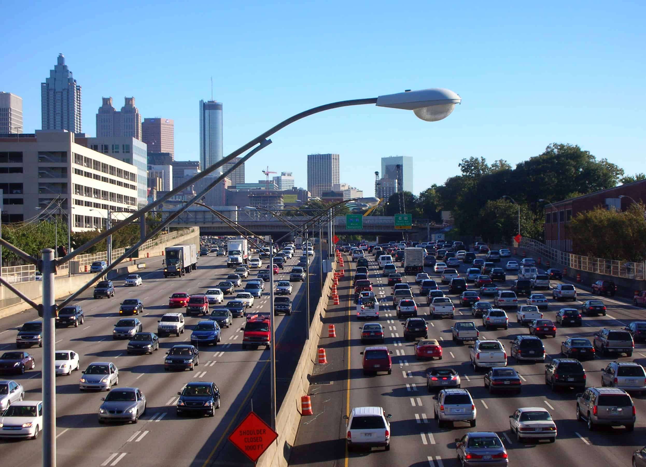 Atlanta highway congestion
